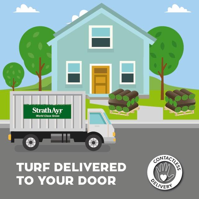 Turf Delivered to your Door